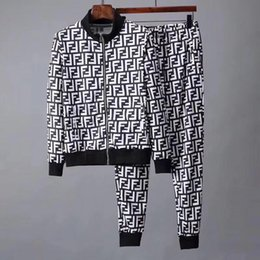 $enCountryForm.capitalKeyWord NZ - sportswear jacket suit fashion running sportswear Medusa men's sports suit letter printing Slim hooded shirt clothing track and field a2