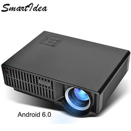 Video games play online shopping - Smartldea C90UP lumens Android WIFI Home Projector play K video Full HD LED LCD Beamer Digital Video Game D Proyector