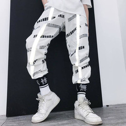 Wholesale men funny joggers for sale - Group buy Funny Casual Pants Summer Trousers Mens Sweatpants Fashion Hip Hop Pants Streetwear Harajuku Joggers Men Loose Harem Male