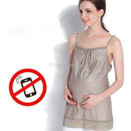 Radiation Clothes NZ - Maternity Clothing Silver Fiber maternity Radiation Suit Radiation Camisole Pregnant woman radiation-proof clothes C5890
