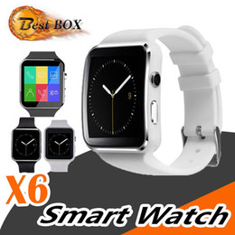 $enCountryForm.capitalKeyWord Australia - Curved Screen X6 Smartwatch Smart Watch Bracelet Phone With SIM TF Card Slot With Camera For LG Samsung Sony All Android Mobile Phone