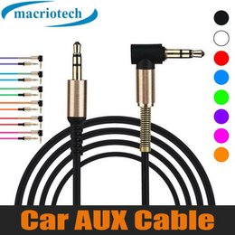$enCountryForm.capitalKeyWord Australia - Best seller 3.5mm Male To Male Right Angle Auxiliary Car Stereo Audio AUX Cable Metal for Phones Car iphone Headphones