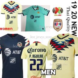 $enCountryForm.capitalKeyWord UK - Thail 2019 LIGA MX Club America soccer Jerseys 2020 America team 10 C.DOMINGUEZ 24 O.PERALTA P.AGUILAR Football shirt uniform men+women
