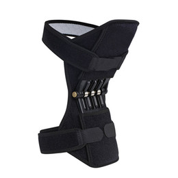 Joint Support Knee Pads Breathable Non-slip Power Lift Joint Support Knee Pads Powerful Rebound Spring Force Knee booster Suppor dropship on Sale