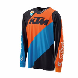 Cycling T Shirt Mtb Australia - cheapest KTM Motocross jerseys T shirts OFF ROAD motorcycle Bicycle Cycling Jerseys Breathable Sweatshirt MTB Downhill jersey Quick Dry