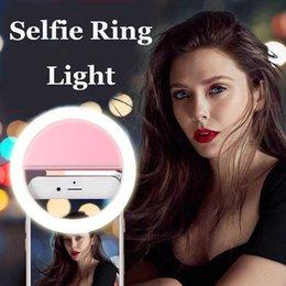 Selfie Ring Light Photo Ring Light Flash portátil Cámara LED Noche Mejorando Fotografía Video para iPhone Smartphones Sumsung en venta