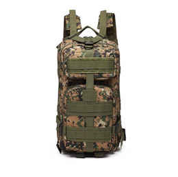 travel fan Canada - 2019 Multifunction Outdoor camouflage backpack Army fan tactical backpack 3P mountaineering bag Camouflage walking bag Travel package 1126#