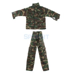 "toy jungle dolls Australia - heap Dolls Accessories 1 6 Scale Clothes Set Soldier Accessories Jungle Camouflage Combat Uniforms Suit for 12"" Male Military Action Fig..."