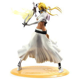 sexy hot figures girls NZ - figure toy Hot Sale 32cm Figurine Arrancar Tercera Espada Tear Halibel Sexy Girl Bleach PVC action figure toys free shipping