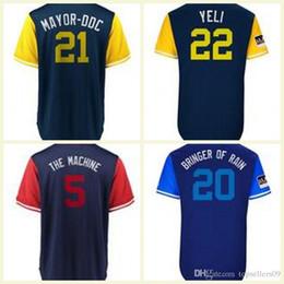 a1a79212d 2018 Players Weekend Custom Milwaukee Jersey Christian Yelich Travis Shaw  Los Angeles Shohei Ohtani Mike Trout Pujols Blue Jays Baseball Jer