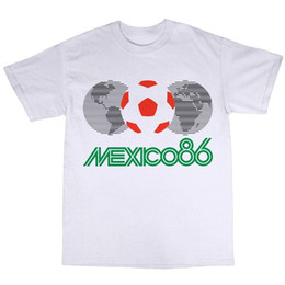 061b0f55cb4 T Shirts Mexico NZ - Mexico 86 T-Shirt 100% Cotton 1986 World Cup