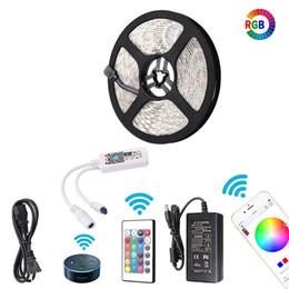 Rohs phone online shopping - Wifi LED Strip Lights Wireless Smart Phone APP Controlled Light Strip Kit Leds Waterproof IP65 LED Lights