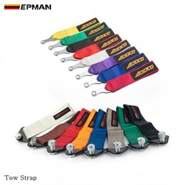 Wholesale Towing Rope High Strength Nylon trailer Tow Ropes Racing Car Universal Tow Eye Strap Tow Strap Bumper Trailer