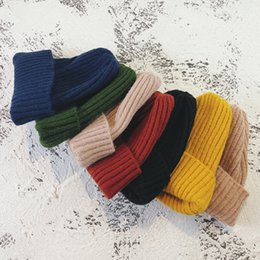 $enCountryForm.capitalKeyWord Australia - Fashion Autumn Winter Knitted Beanies Hats 2019 New Arrivals Female Male Simple Basic Thick Classic Warm Hats for Men and Women