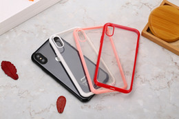 $enCountryForm.capitalKeyWord Australia - Luxury Clear Soft TPU Case For iphone XR XS MAX X 10 8 Plus 7 6 6S 5 5S Dual Color Hybrid Bicolor Transparent Luxury Cell Phone Cover Skin