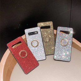 Wholesale Flash Rhineston Ring Bracket Mobile Phone Case For Apple Mobile Phone iPhone X Plus Xs Xr Xs Max Exquisite Shiny Beautiful Trend Cool