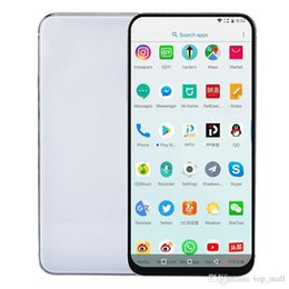 Android Tv Nano Australia - Unlocked Goophone XS 1GB RAM 8GB ROM Quad Core Android 7.0 3G Show 4G LTE Support Wireless Charger