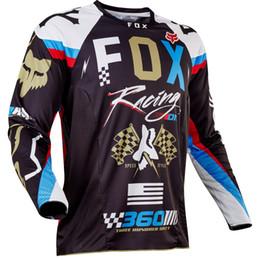 Venta caliente 2019 Nuevo MTB DH Motocross Camisa de carreras de motos Ropa de montaña Bicicleta MX BMX Moto Bicicleta de manga larga Jersey