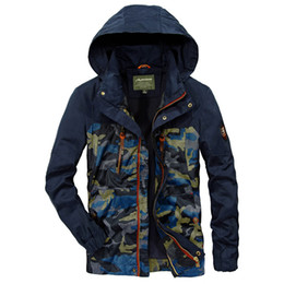 Wholesale afs jeep jackets for sale – winter Camouflage Coat Mens Hoodies Casual Jacket Brand AFS JEEP Clothing Mens Coats Male Spring Autumn Hot Selling Men s Hooded Men Winter