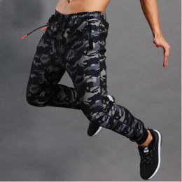 mens military cargo camouflage pants 2020 - New Casual Mens Boutique Autumn Pencil Harem Pants Men Camouflage Military Pants Loose Comfortable Cargo Trousers Camo J
