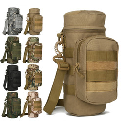 Bottle pouch molle online shopping - MOLLE Tactical Travel Water Bottle Kettle Pouch Carry Bag Case for Outdoor Activities Tactical Gear Pack Bag