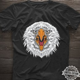 Cotton Suppliers NZ - Eagle Head T Shirt Eagles Fans Lovers Black Cotton Men S-6XL US Supplier Funny free shipping Unisex Casual Tshirt top