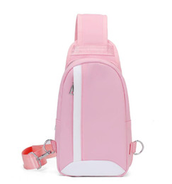 cross body backpacks girls NZ - 2019 Hot sale Classic Fashion Lady's pink Slant Backpack girl pu Cross Body bag Woman Chest pack Student shoulder bag 4 colors