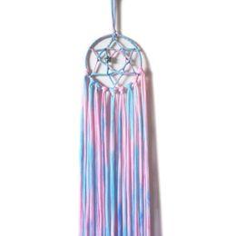 Children Hangers Clips UK - Clips Organizer Dream Catcher Hair Clip Storage Kids Children Girls Supplies Colorful Hanger Hanging Wall Headwear Organizing