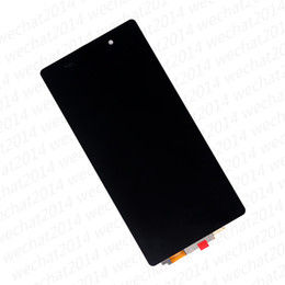 $enCountryForm.capitalKeyWord Australia - 30PCS LCD Display Touch Screen Digitizer Assembly Replacement Parts for Sony Z1 Compact Z2 L50W D6502 free DHL