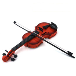 Toy String Instruments Australia - Toy violin children's musical instrument string can play the sound of the beginner children simulation violin children interest training toy
