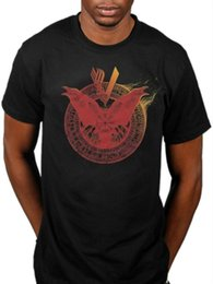 quick vision Australia - Viking Crow Crest T-Shirt The Prisoner Homeland Moments Of Vision