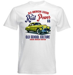tshirt cars Australia - VINTAGE AMERICAN CAR OLDSMOBILE 88 - NEW COTTON T-SHIRTFunny free shipping Unisex Casual Tshirt top
