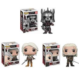 Games Deluxe NZ - Funko Pop The Witcher 3 - Wild Hunt: Geralt Figure Dark Horse Deluxe The Witcher PVC Game Figure Toys