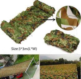 $enCountryForm.capitalKeyWord Australia - Wholesale-Four-season Outdoor Hunting 300 x 300cm Military Camouflage Jungle Net Woodlands Camo Blind Trap Tent Hunt Accessories