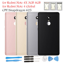 $enCountryForm.capitalKeyWord Australia - for Xiaomi Redmi Note 4 Global Battery Back Cover Rear Cover Note 4X Housing Door Side Key Camera Glass Card Tray Holder