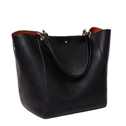 $enCountryForm.capitalKeyWord UK - Wholesale-2016 Women Handbag Famous Brand Shoulder Bags Solid Designer Handbags High Quality Ladies Hand Bags Women Tote Big Female Bag