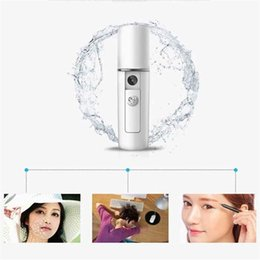 $enCountryForm.capitalKeyWord Australia - Portable Nano Facial Mist Sprayer 20ml USB Rechargeable Ultrasonic Ozone Water Steamer Travel Moisturizing Face Sprayer Skin Care Machine