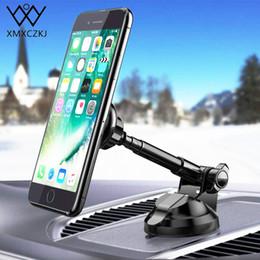 Xmxczkj Магнитный автомобильный держатель для мобильного телефона с креплением на гибкой рукоятке Универсальная GPS-подставка для смартфона с магнитной подставкой для Iphone X 8 Xs J190507