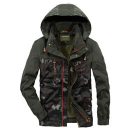 $enCountryForm.capitalKeyWord UK - Camouflage Parkas Mens Military Medium long Winter Coat Thickening warm Cotton-padded Jacket Male Fur collar Hooded wadded