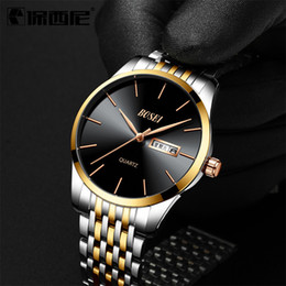 male white wrist watch Australia - Man Wrist Watch Waterproof Ultrathin Business Affairs Wrist Watch Quartz Wrist Watch Male Clocks And Watches