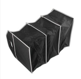 Wire Car Interior UK - 2019 Convenience Supper fashion free shipping wholesales Car Interior Storage Box Foldable Organiser Multi-Pocket Auto Travel Black