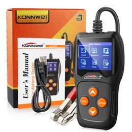 lexus diagnostic tester Australia - KONNWEI KW600 12V Car Battery Tester 100 to 2000CCA 12 Volt Battery Analyzer for the car Quick Cranking Charging Diagnostic