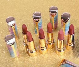 $enCountryForm.capitalKeyWord NZ - hot Rainbow Scrub Matte Lipstick New Waterproof Long Lasting Pigment Velvet Brand Sexy Lipstick Makeup Product