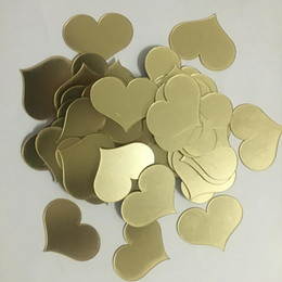 love stickers Australia - 1000pcs 4*5cm 3D Acrylic Mirror Surface Gold Heart-shaped Wall Sticker Bedroom Wedding Decoration Wall Decals Love Art Poster