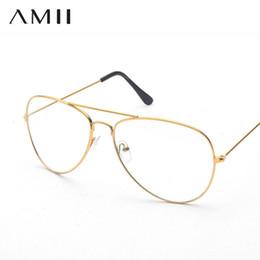 16ab3a0fb5 2019 Prescripción personalizada gafas miopía montura piloto Anteojos lentes  graduadas Mujeres Hombres Marco de gafas ópticas para mujeres hombres