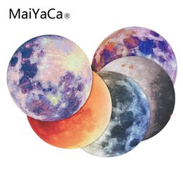 $enCountryForm.capitalKeyWord UK - MaiYaCa Moon New Small Size Round Mouse Pad High Speed New Mousepad Large Gaming Mouse Pad Lockedge Mat Keyboard