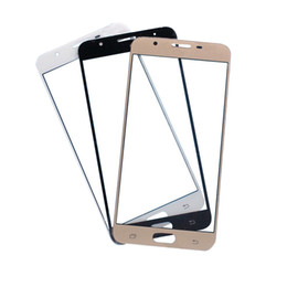 $enCountryForm.capitalKeyWord Australia - 20PCS For Samsung Galaxy J5 Prime J7 Prime G570 G610 outer Glass Front Touch Screen Glass Lens Replacement Parts