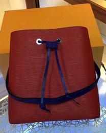 $enCountryForm.capitalKeyWord Australia - 2019 Designer Famous handbags NEONOE shoulder bags Noe leather bucket bag women flower printing crossbody bag purse TWIST zz12