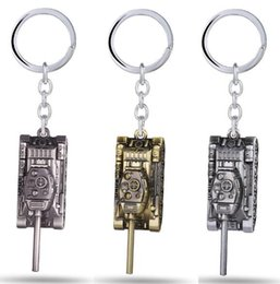 Discount mans bullet chains - Wot Game World of Tanks Bullet Keychain 4cm tank Model Key Rings Costume Cosplay Halloween Movie Key Chain Accessories F