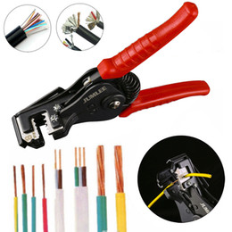 AutomAtic wire strippers online shopping - Professional Automatic Wire Striper Cutter Stripper Crimper Pliers Terminal Tool Convenience Hand Tools Stripper